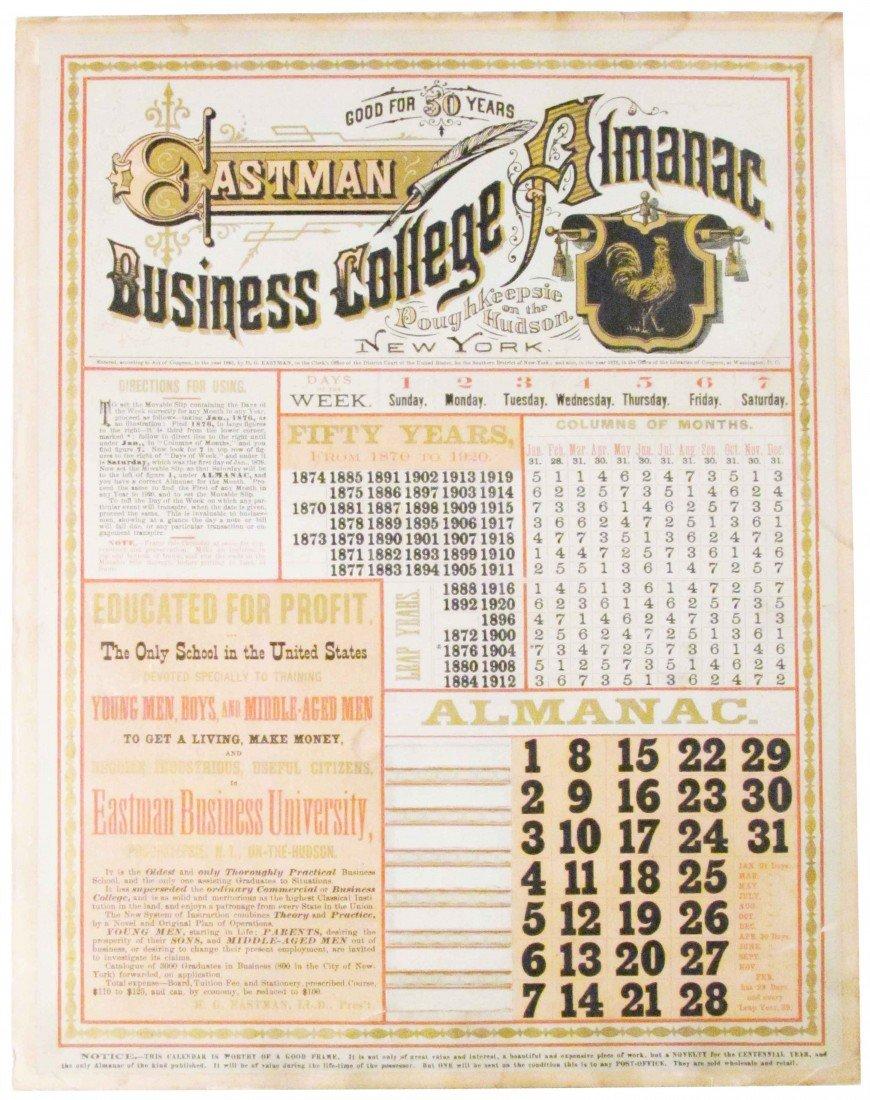 506: Eastman Business College Almanac