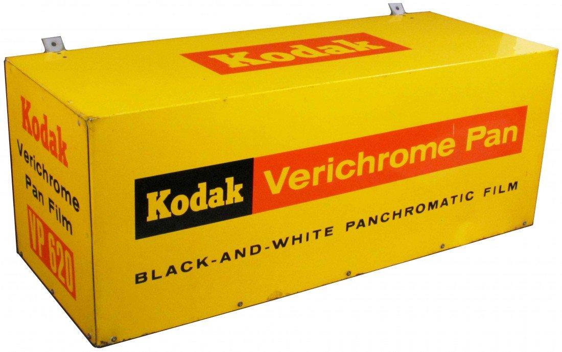 519: Kodak Verichrome Pan Tin Store Display