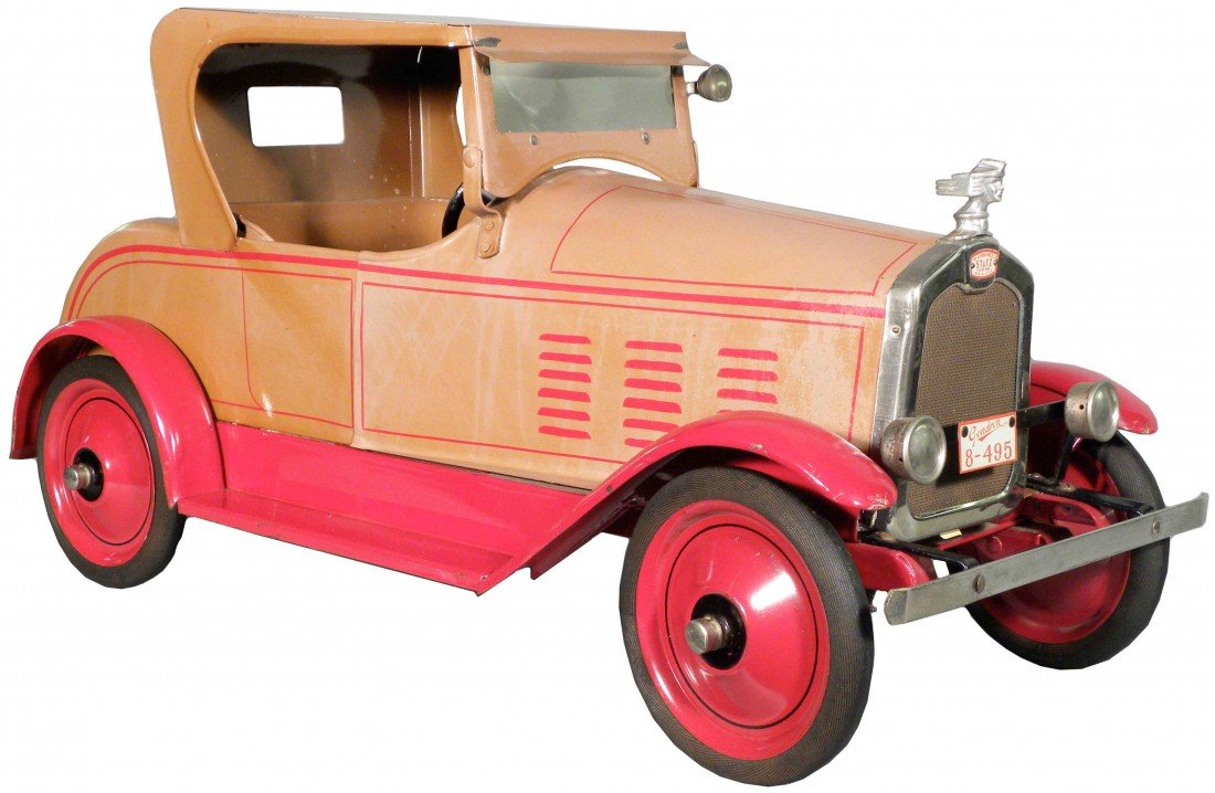 "863: Gendron ""Stutz"" Auto. Ca. 1926 Pressed Steel Pull"