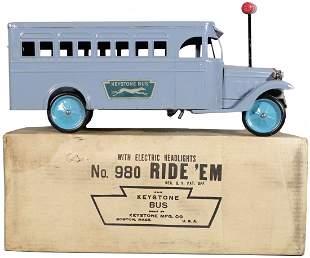 866: Extremely Rare Keystone No. 980 Ride 'Em Greyhound