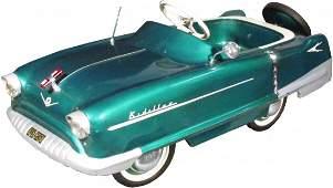 """969: 1950's Garton """"Kidillac"""" Pedal Car"""