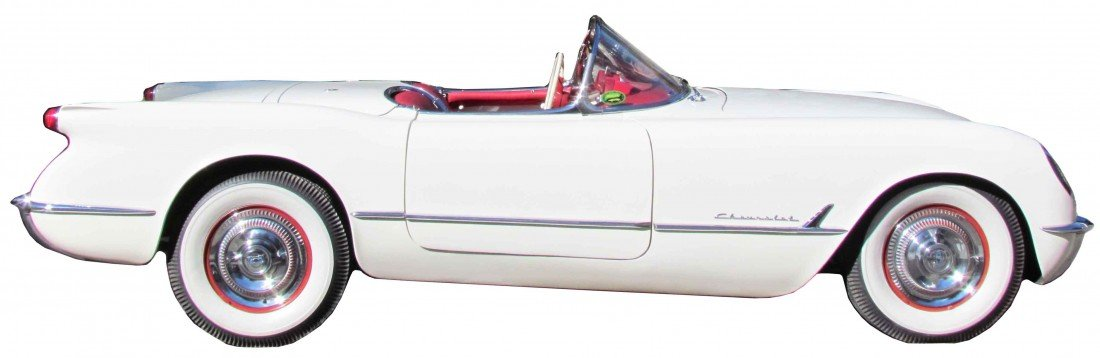 993: 1954 Corvette. All Original including the Paint