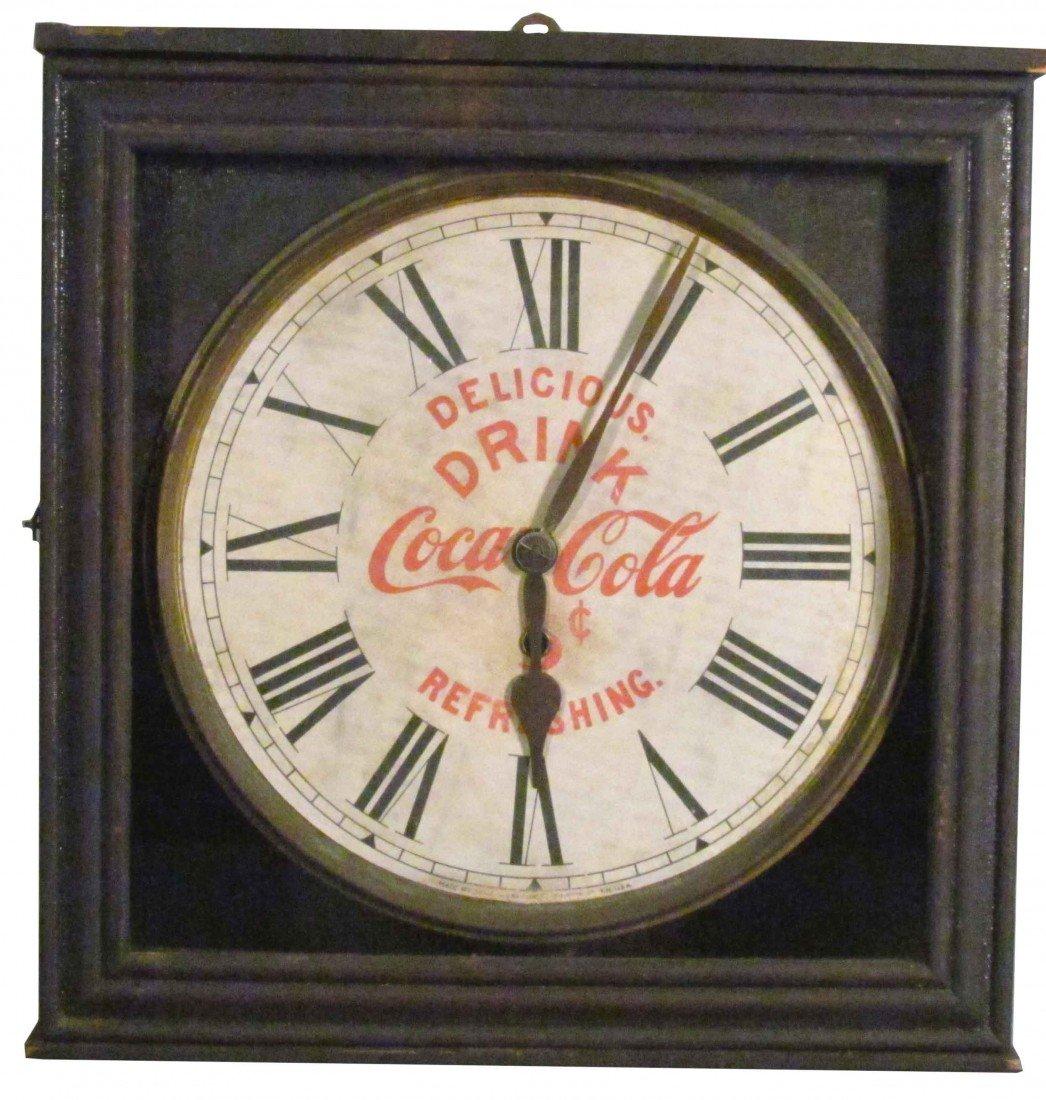 1348: Early 1930's Coca Cola Clock