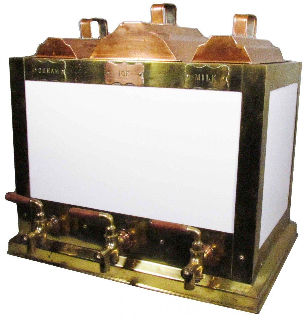 1372: Soda Fountain Dispenser for Cream, Ice & Milk