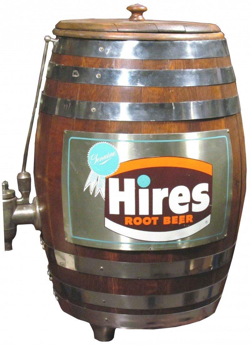 1388: Hires Root Beer Barrel Soda Dispenser