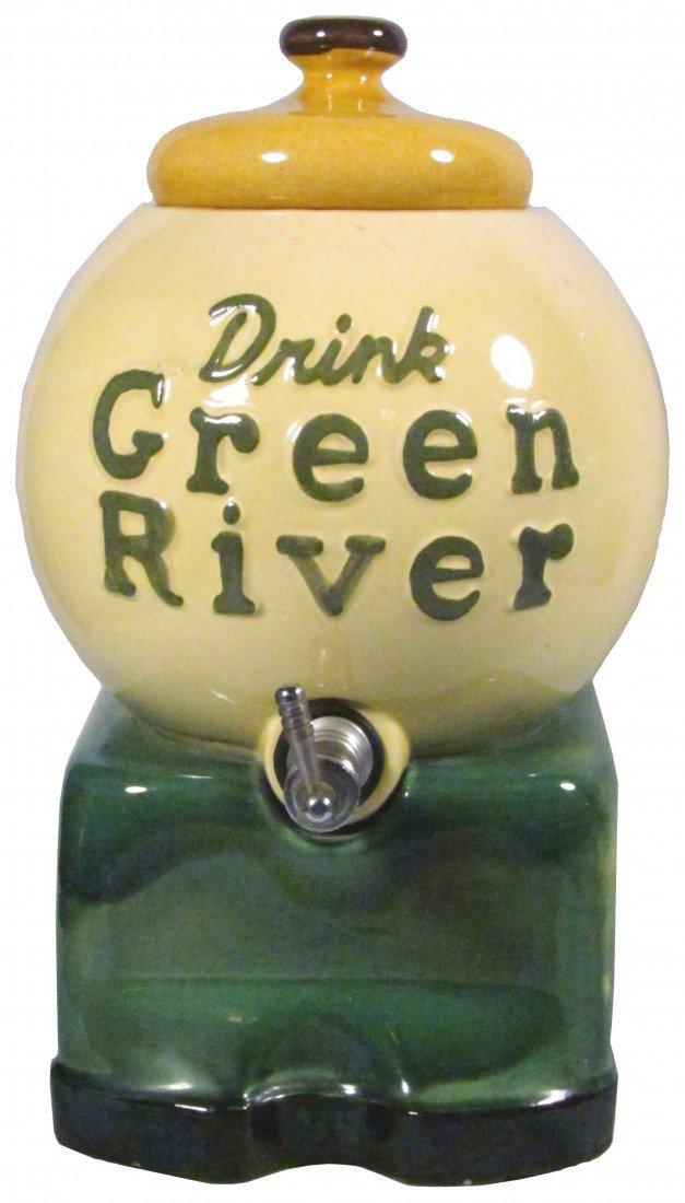 1391: Green River Syrup Dispenser