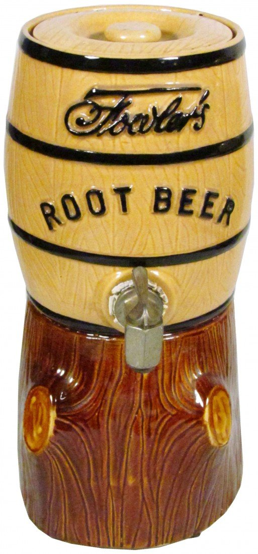 1392: Fowler's Root Beer Syrup Dispenser