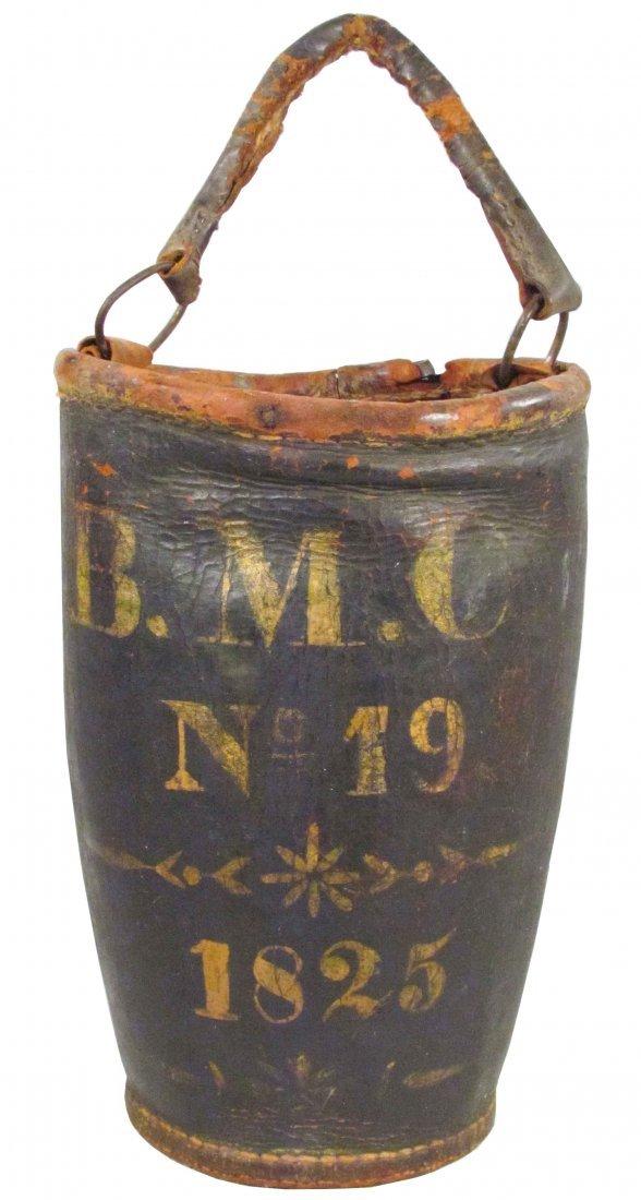 1303: Leather Fire Bucket