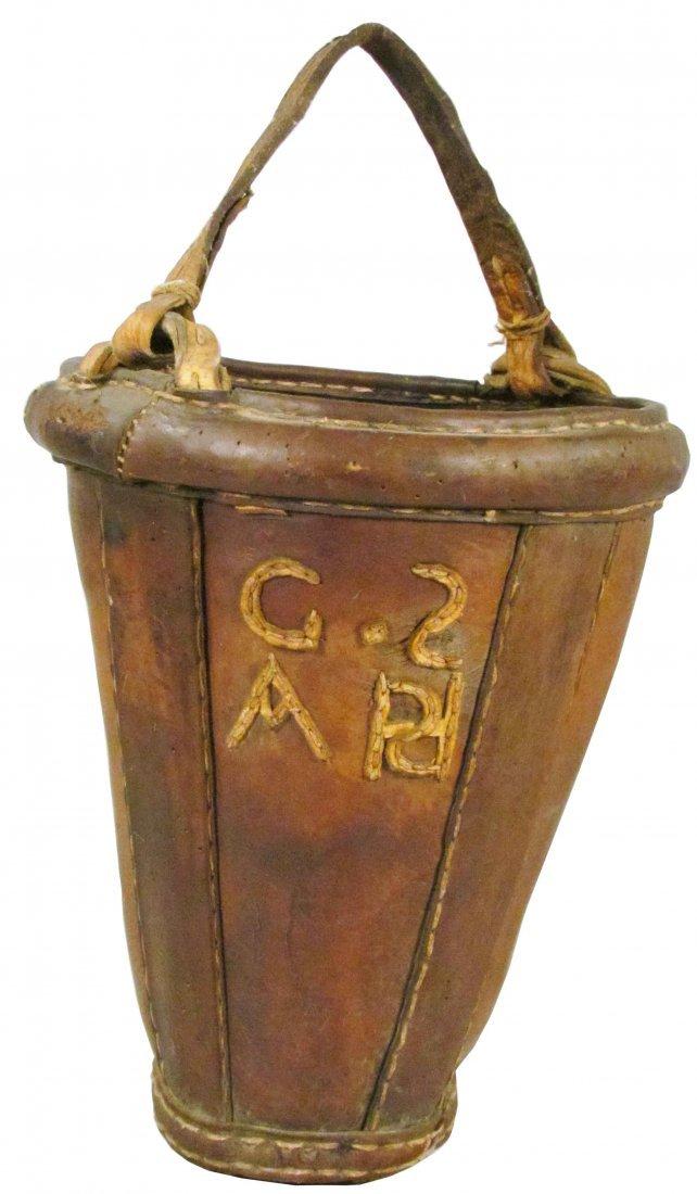 1310: Leather Fire Bucket