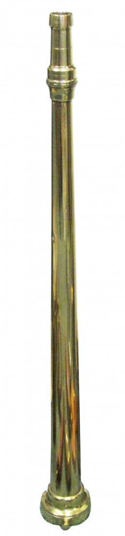 1318: Brass Fire Nozzle