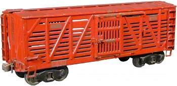 1564 BuddyL Pressed Steel Toy Cattle Car