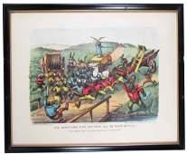 """1662: """"The Darktown Fire Brigade"""" All On Their Mettle P"""