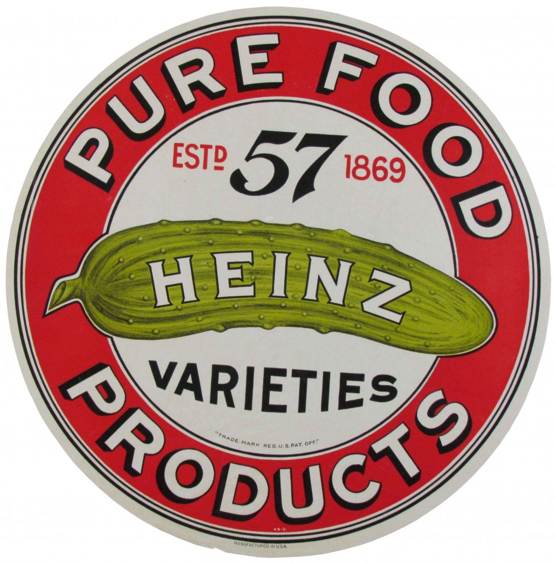 Heinz 57 Barrel Label