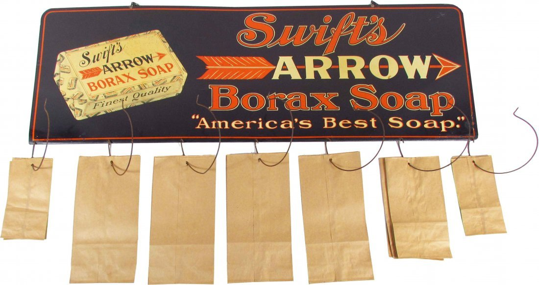 Rare Country Store Advertising Bag Holder