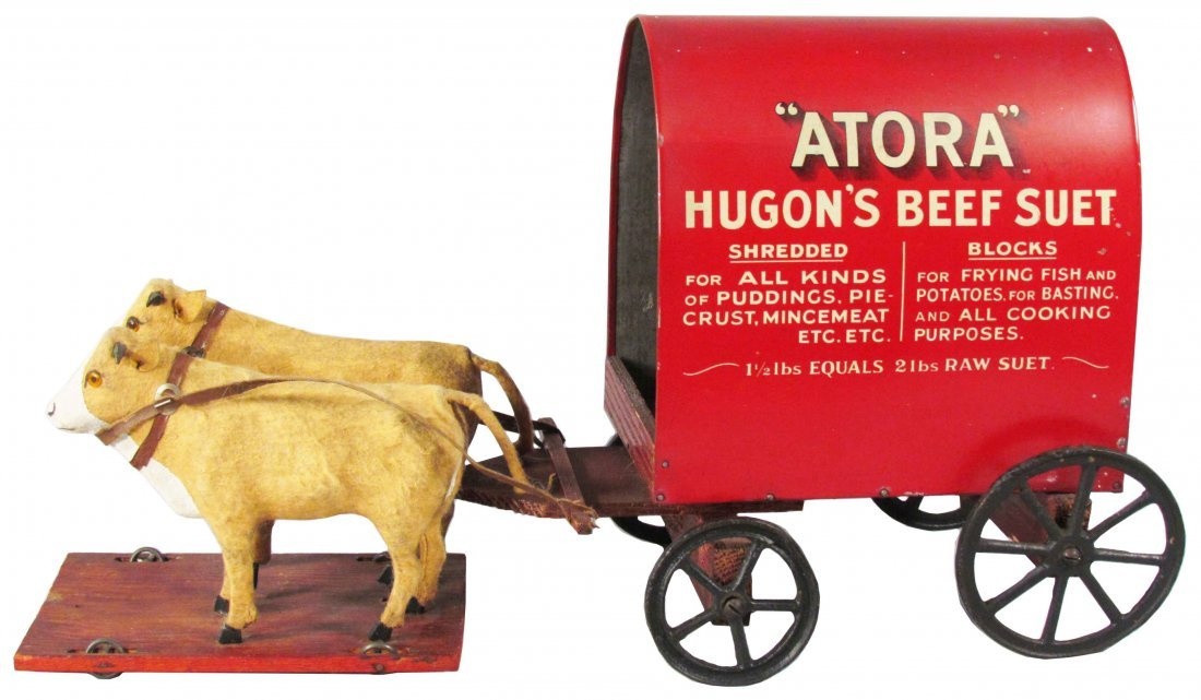 Atora Hugon's Beef Suet Store Display