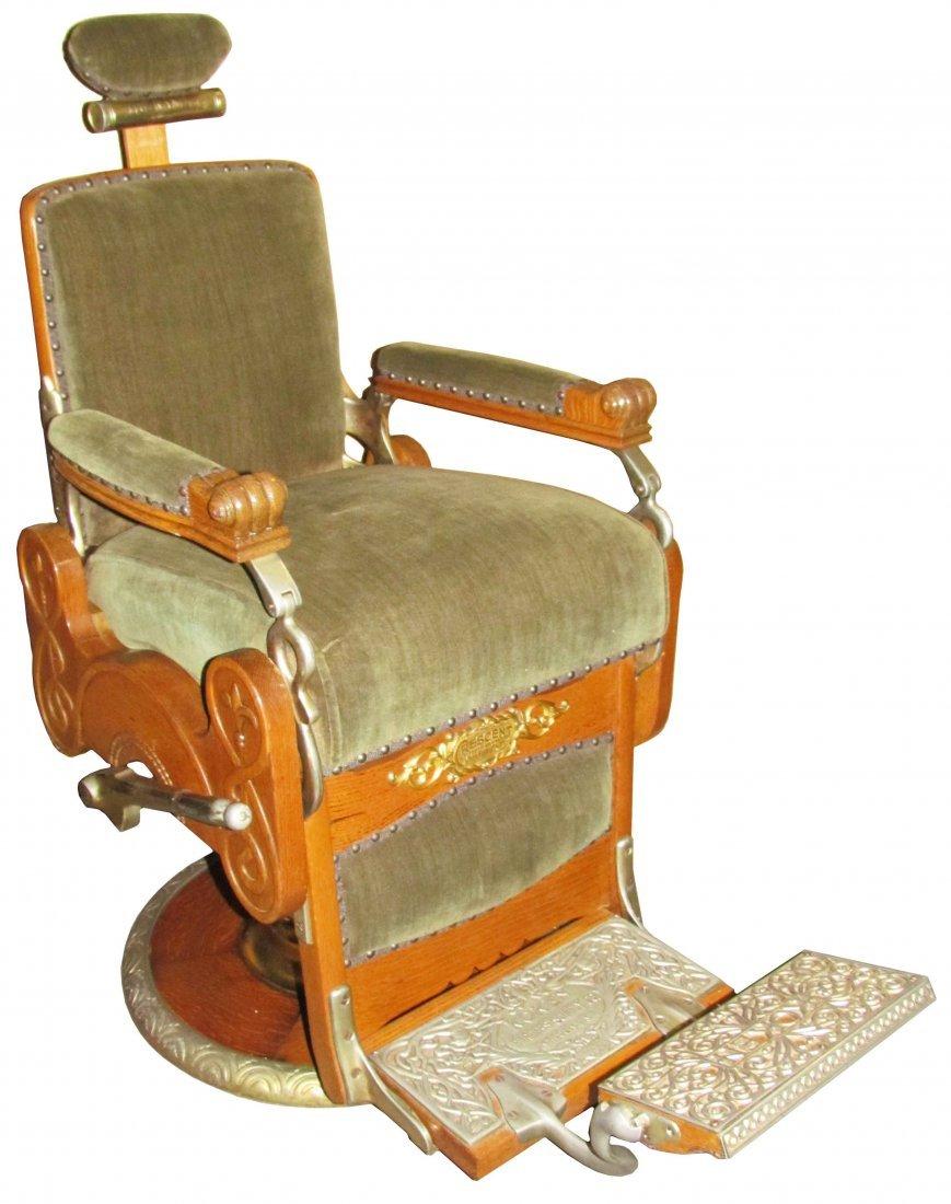 1890's Koken Barber Chair