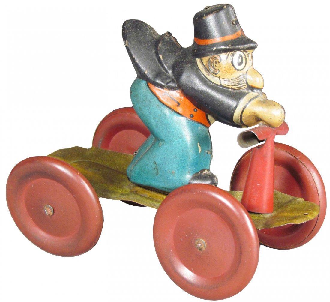 J. Chein & Co. Barney Google Tin Pull Toy