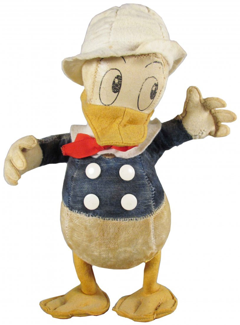 Early Donald Duck Stuffed Toy