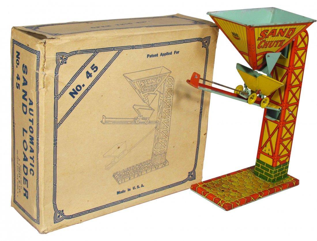 J. Chein Sand Loader Tin Toy