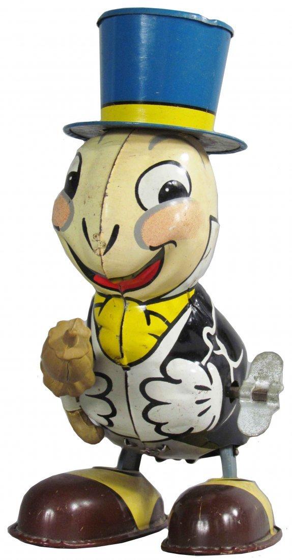 Line Mar Toys Jiminy Cricket Tin Wind Up Toy
