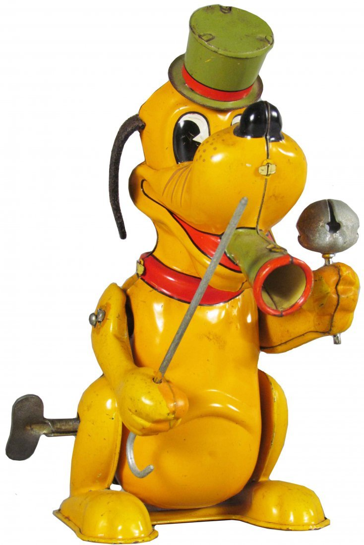 Line Mar Toys Pluto Tin Wind Up Toy