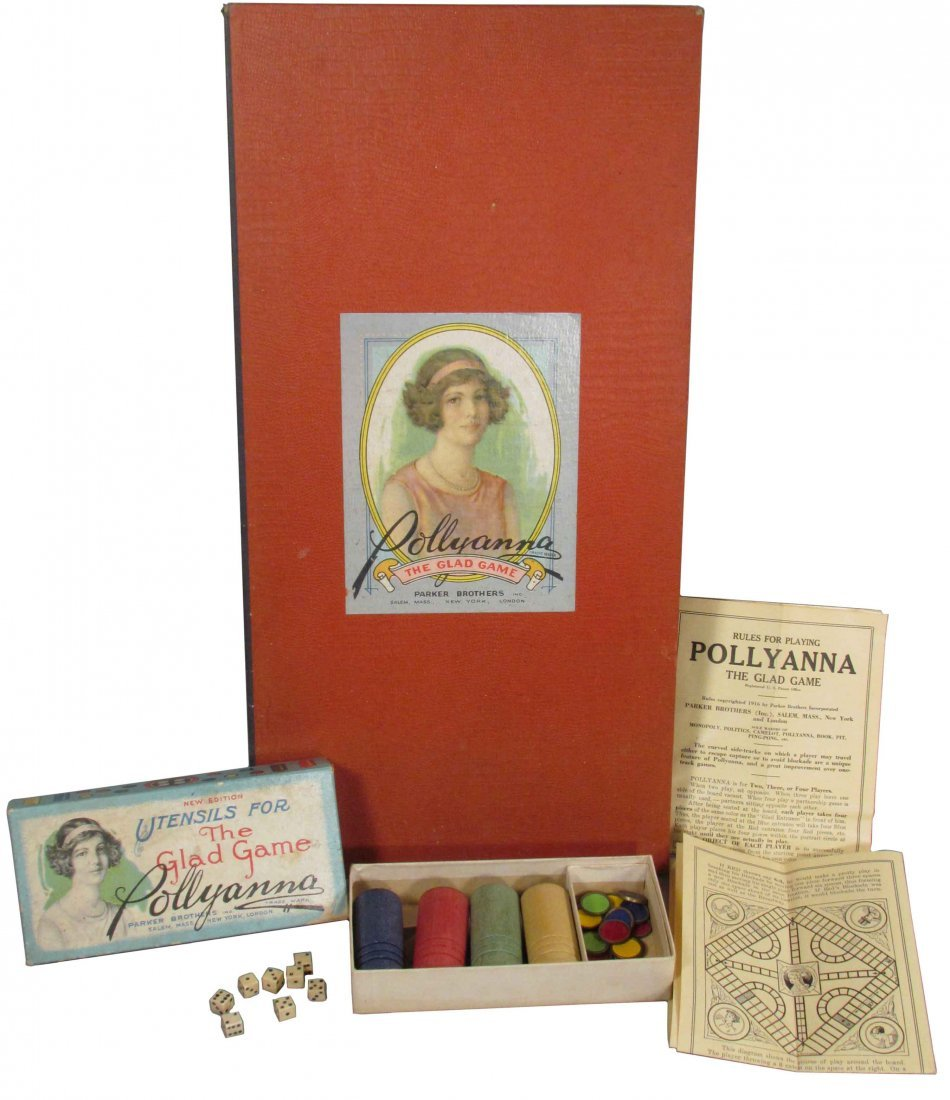 Parker Brothers Pollyanna Board Game