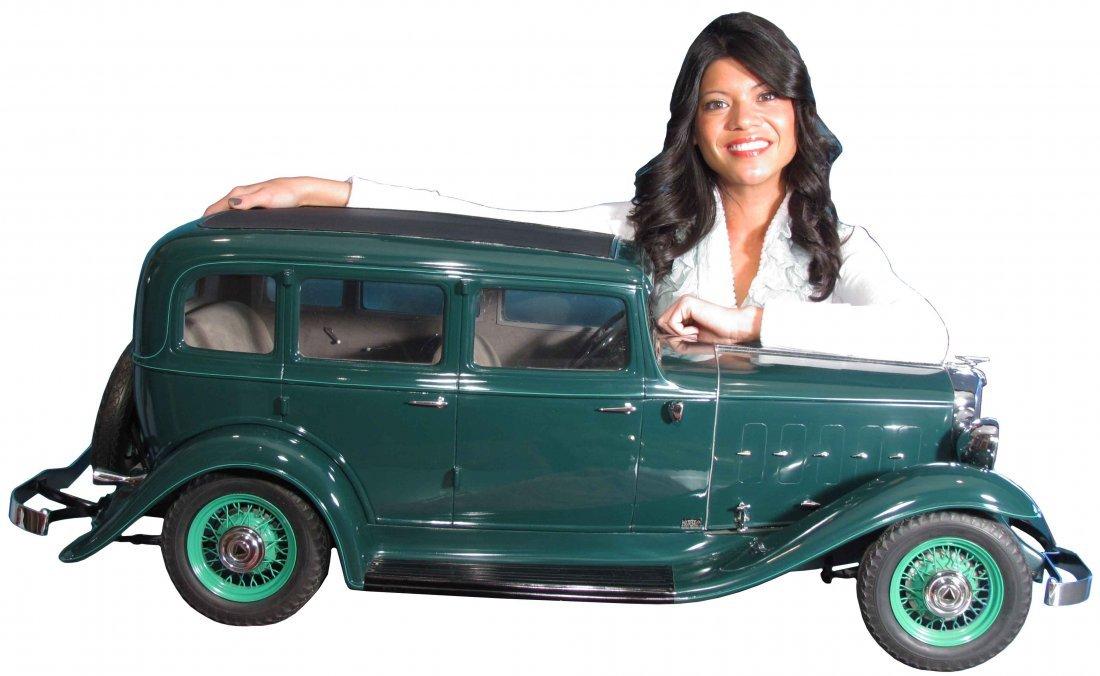 1932 Hudson 1/4 Scale Auto Show Model Car