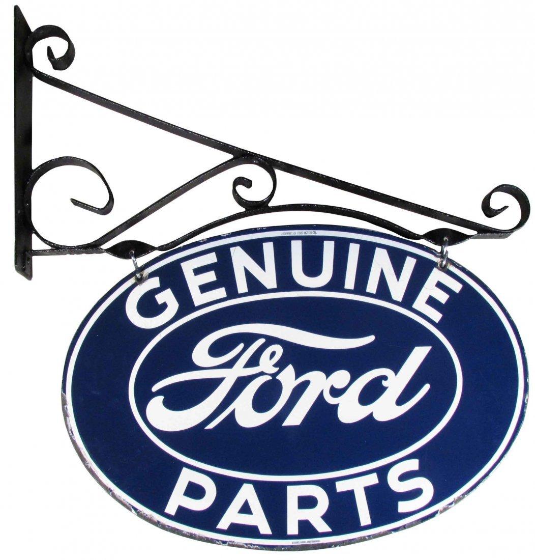 Genuine Ford Parts Porcelain Sign
