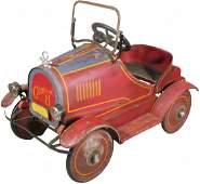 Rare 1920's Sidway -Toploff Cadillac Pedal Car