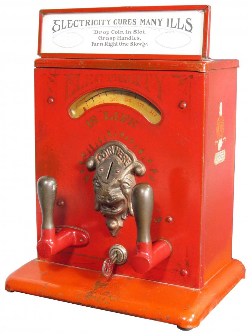 "Mills Novelty Co. ""Electricity is Life"" Machine"