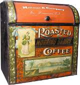 Roasted Coffee Tin Store Bin