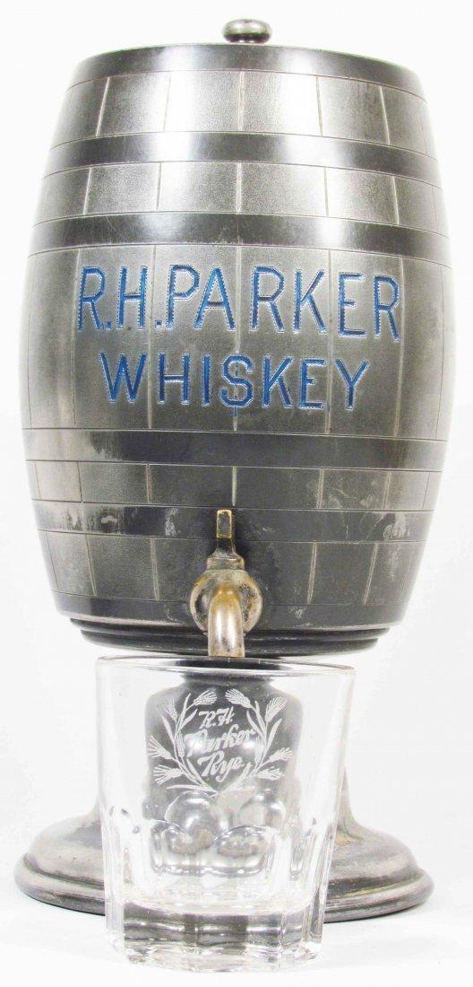 R.H. Parker Whiskey Saloon Dispenser