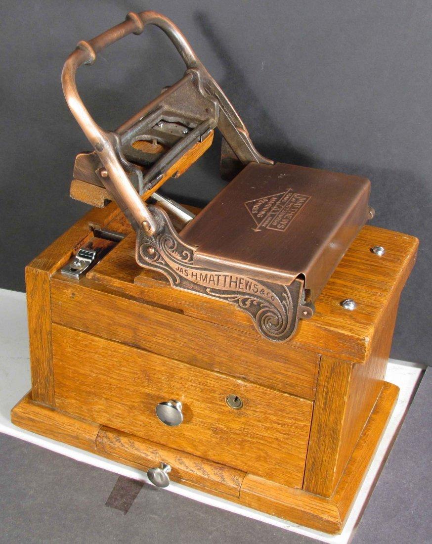 Matthews of Pittsburg Marking Device