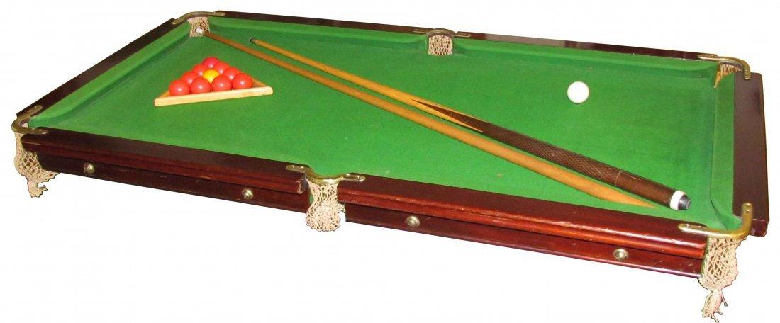 E.J. Riley Table Top Billiard Table