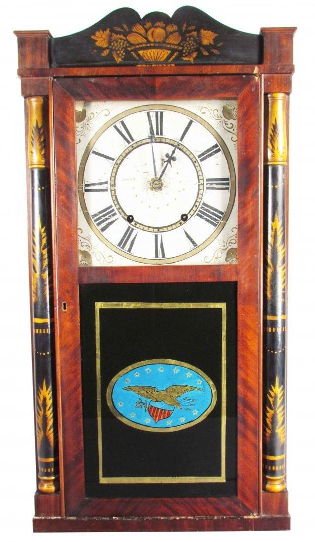 Early Wood Clock