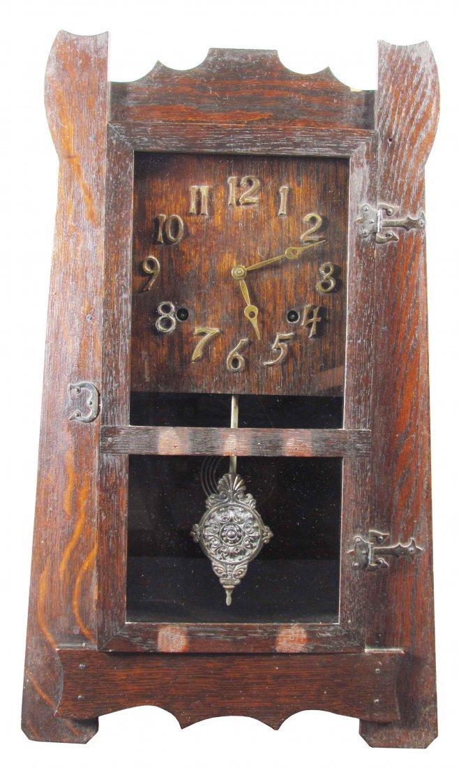 Wood Mantel Clock