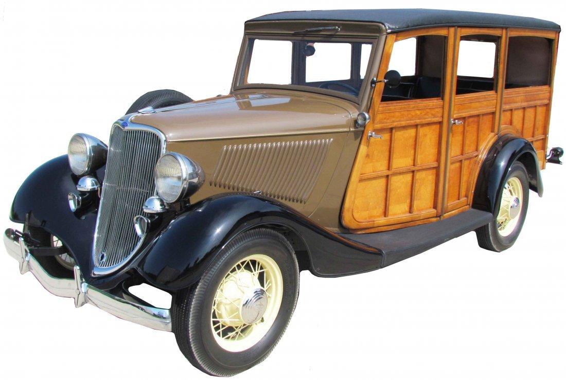 1933 Ford WoodyStation Wagon