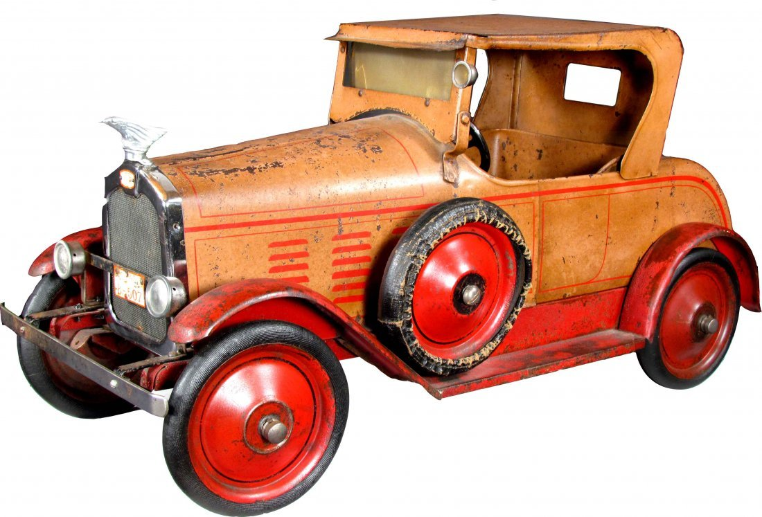 Gendron Stutz Roadster Pressed Steel Pull Toy