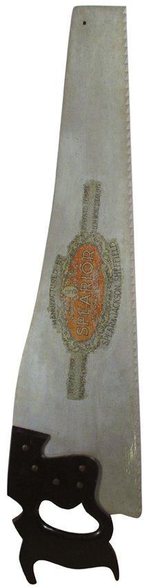 Spearior Handsaws Trade Sign