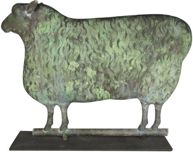 Full Body Sheep Weathervane