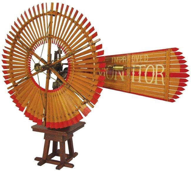 Improved Monitor Salesman Sample Windmill