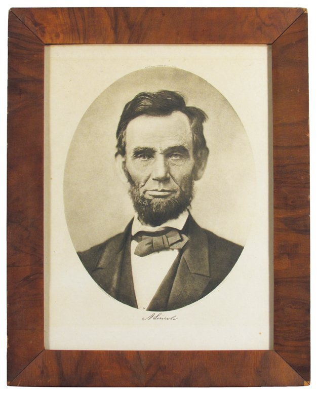 Portrait of Lincoln, Photogravure & Color Co. N.Y