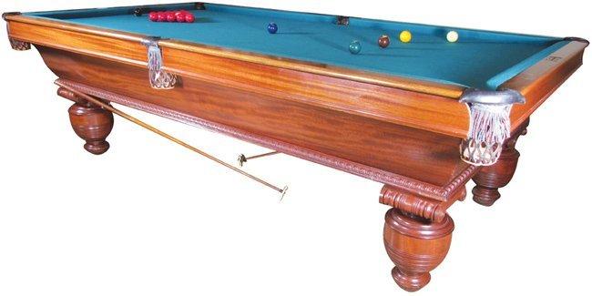 Brunswick-Balke-Collender Snooker Table