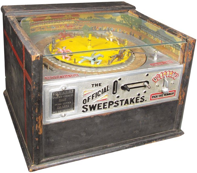 The Official Sweepstakes Horse Race Arcade Game