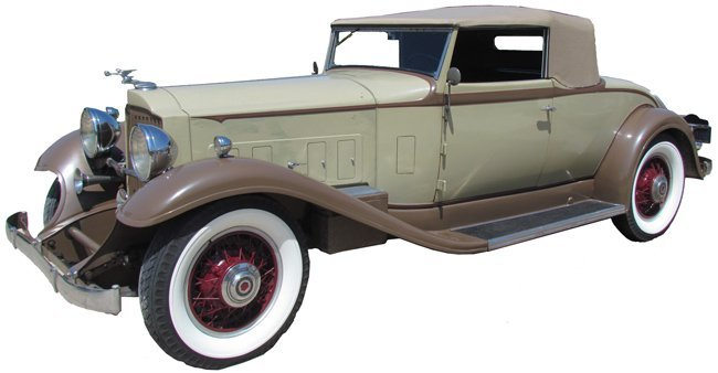 1932 Packard Convertible Coupe 902 Standard 8