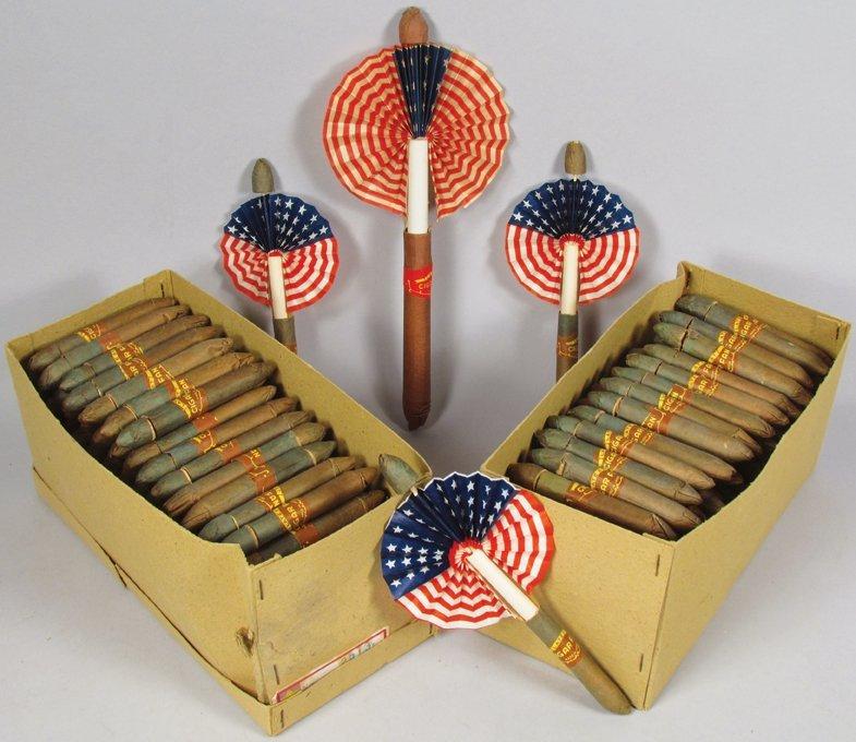 Quantity of Vintage Decorative Cigar Fans
