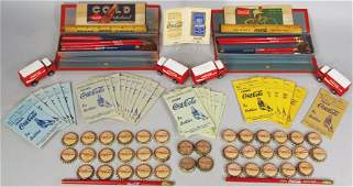 Quantity of Vintage Coca Cola Advertising Items