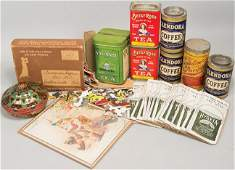 Quantity of Vintage Coffee and Tea Related Items