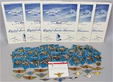 Quantity of Childrens Hostess and Pilot Wings