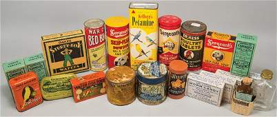 Quantity of Veterinary and Cure Items